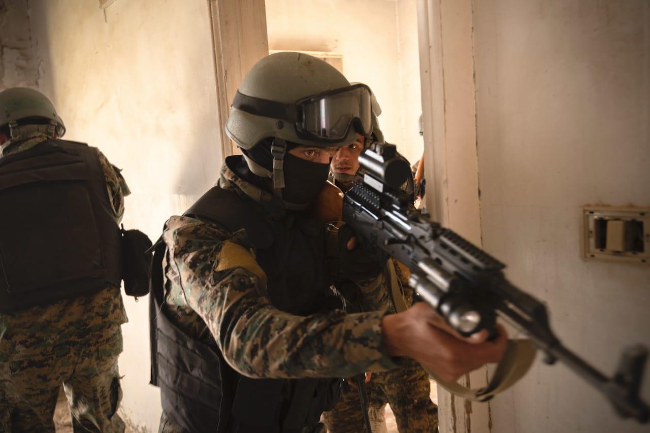 Syrian Defense Forces Undergoing U.S. Training