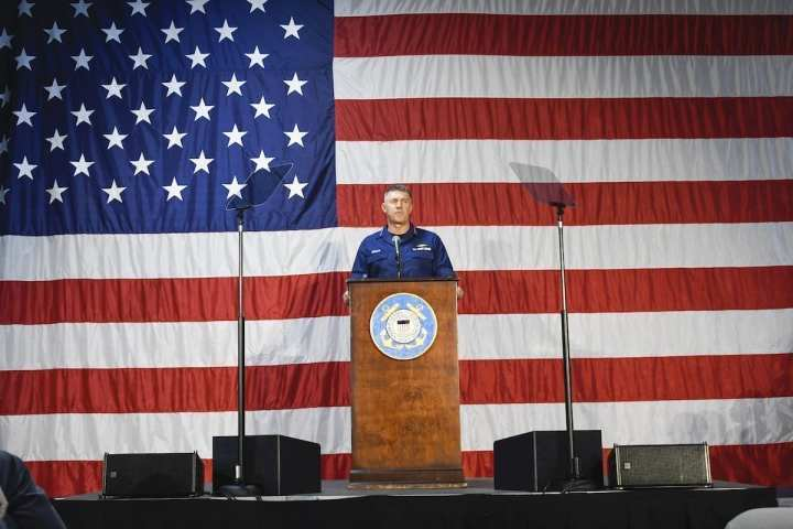 Coast Guard Commandant Delivers 2020 State of the Coast Guard Address