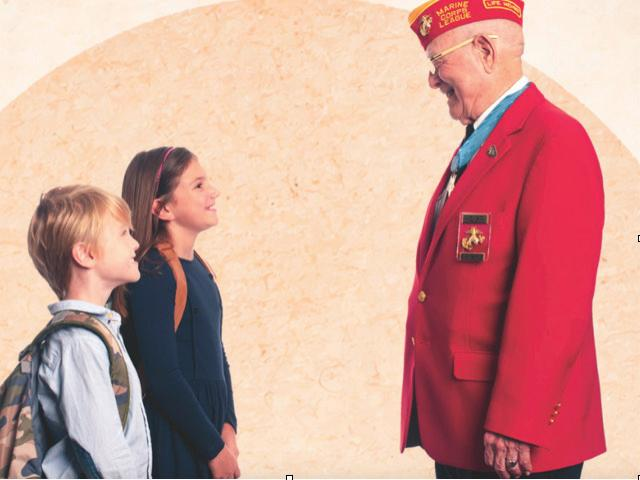 The Hershel Woody Williams Medal of Honor Foundation provides living legacy scholarships to eligible Gold Star children.