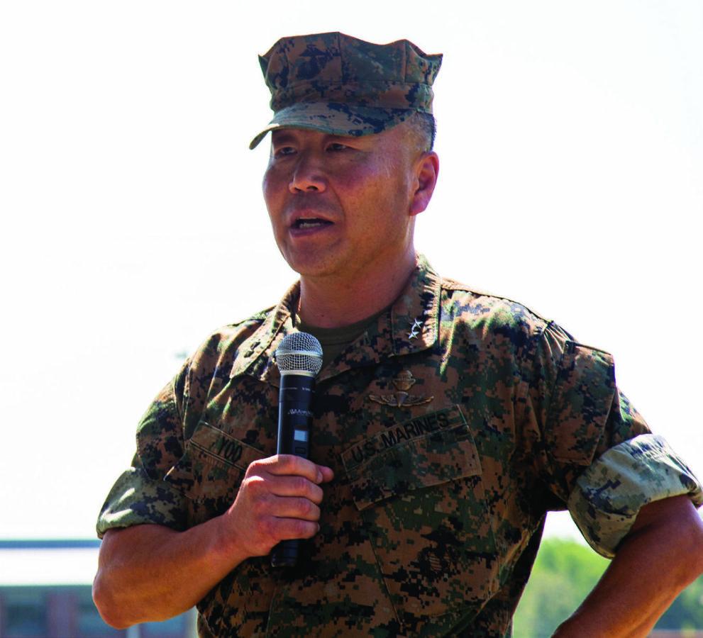 MARSOC Commander Maj. Gen. Daniel D. Yoo. U.S. MARINES CORPS PHOTO U.S. MARINES CORPS PHOTO BY SGT. JESSICA PON
