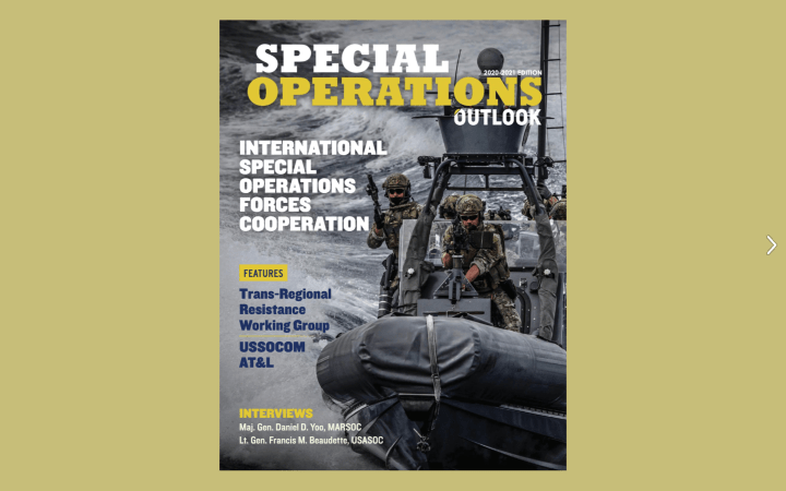 Special Operations Outlook, 2020 Edition