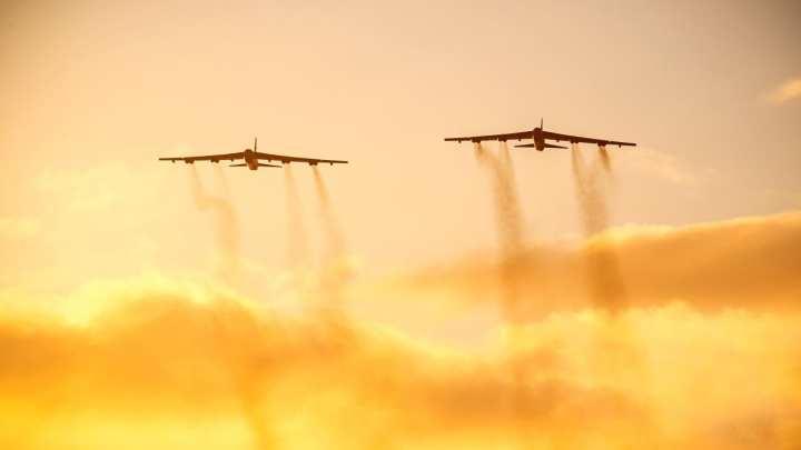 U.S. Air Force B-52 Bombers