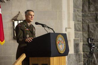 Gen. Clarke USSOCOM addresses West Point Cadets