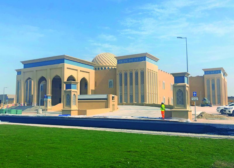 One of the major projects completed under the Transatlantic Division in 2020 was a headquarters building that was part of the SHIELD 5 Missile Defense Project in Qatar.(Photo Courtesy of USACE Afghanistan District)