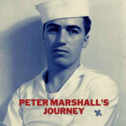 Photograph of Peter Marshall, Navy Hospital Corpsman, age 19. (Image courtesy of André Sobocinski)
