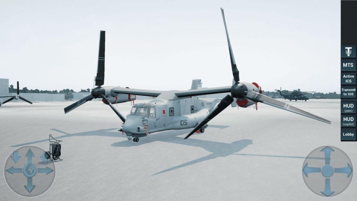 V-22 Osprey VR Training