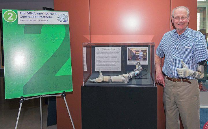 veteran LUKE arm prosthetic arm