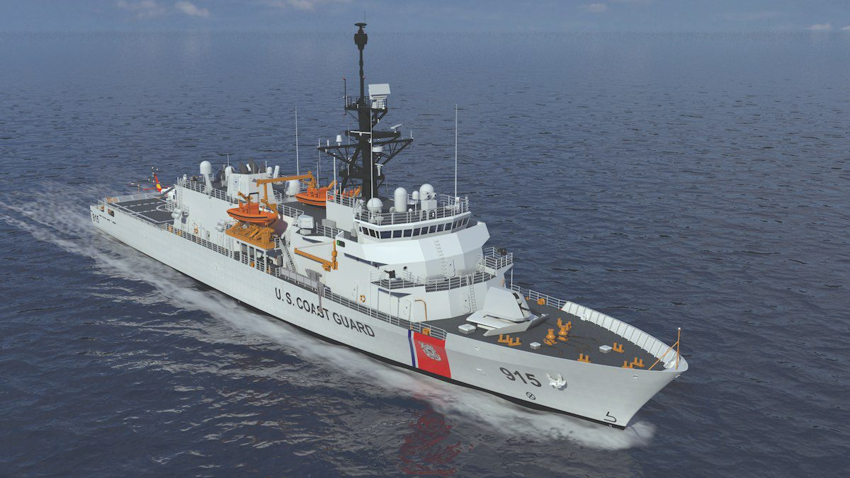 The notional offshore patrol cutter (OPC) design