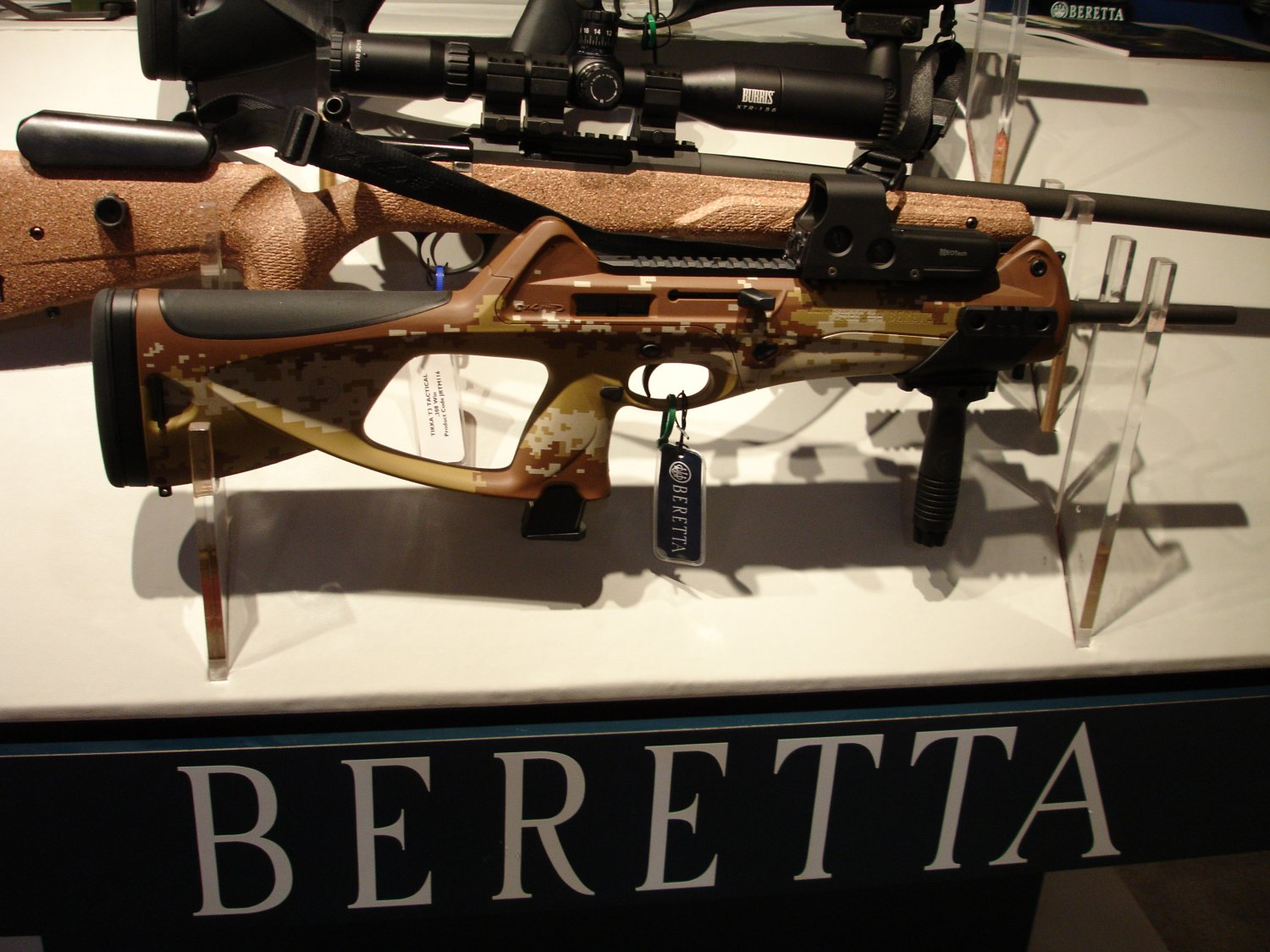 hight resolution of beretta cx4 storm semiautomatic carbine in digital desert camouflage
