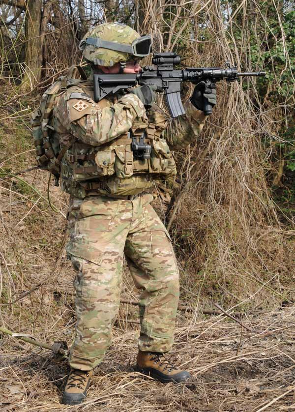 u s army family