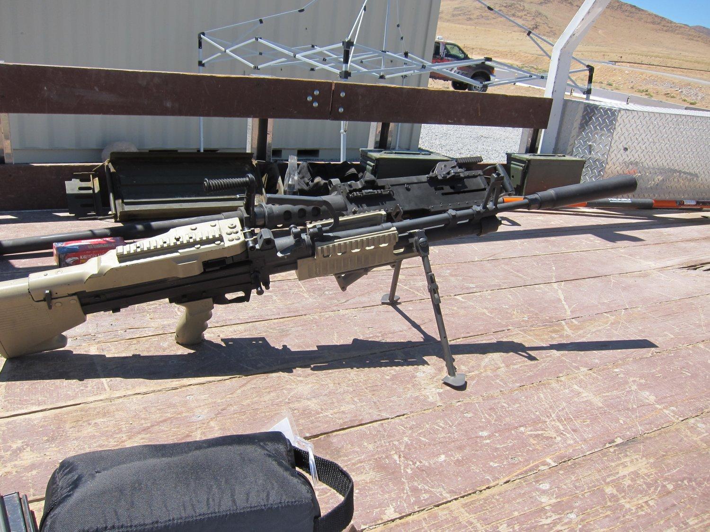 U S Ordnance Mk43 Mod 1 M60e4 Commando 7 62mm Nato Medium
