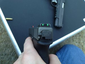 SelectFireFullAuto Glock 22 40 S&W Machine Pistol at the Range: STS Arms SelectFire