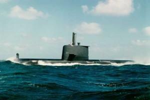 HMAS Collins diesel-electric submarine SSK Australian Navy