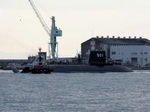 Japanese submarine SS 501 Soryu