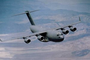 Boeing C-17 heavy lift transport aircraft (Source: Boeing)