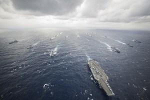 CVN 73 Carrier Strike Group (Source: US Navy)