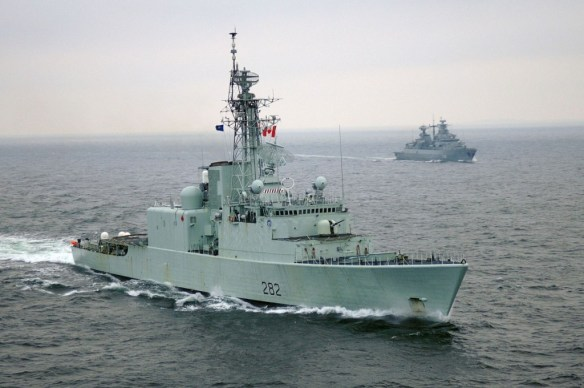 HMCS Athabaskan Source: Royal Canadian Navy