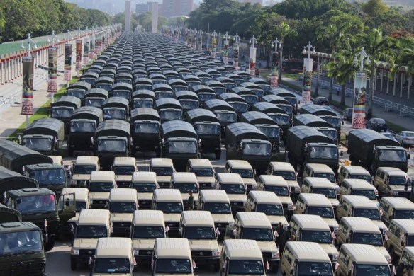 Venezuela recently received a shipment of tactical and administrative vehicles. Source: Venezuela Ministry of Defense