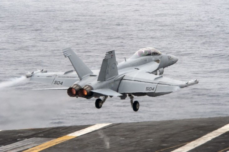 EA-18G Growler. Source - U.S. Navy