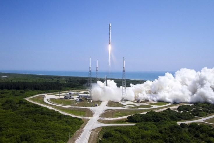 Atlas V liftoff (Credit: ULA)