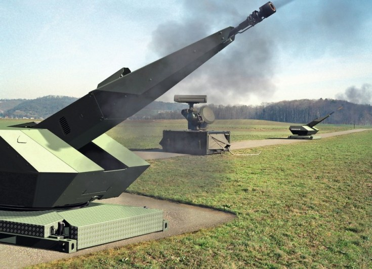 Oerlikon Skyshield® Air Defence System. Source: Rheinmetall Defence