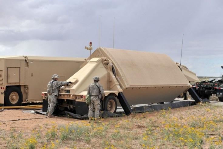 TPY-2 THAAD Ground Based Radar