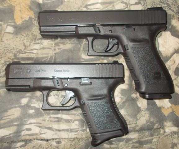 glock 20 and 29