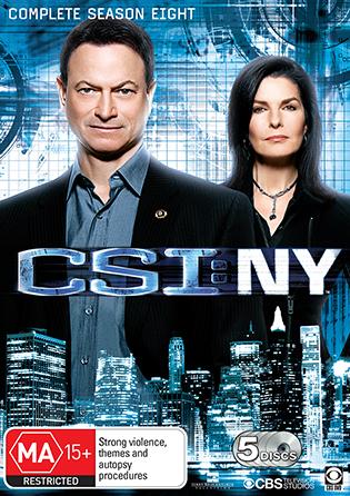CSI: NY Season 8