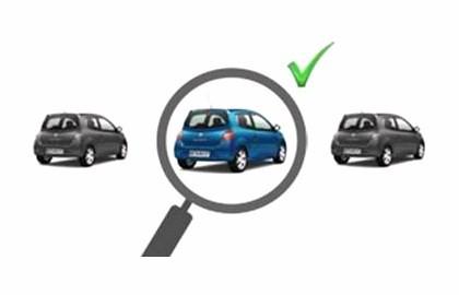 Recherche véhicule Défi Auto