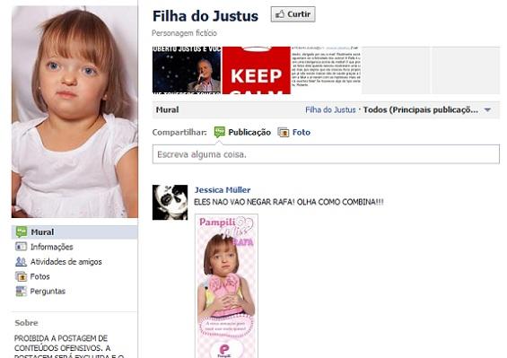 """""""Filha do Justus"""""""
