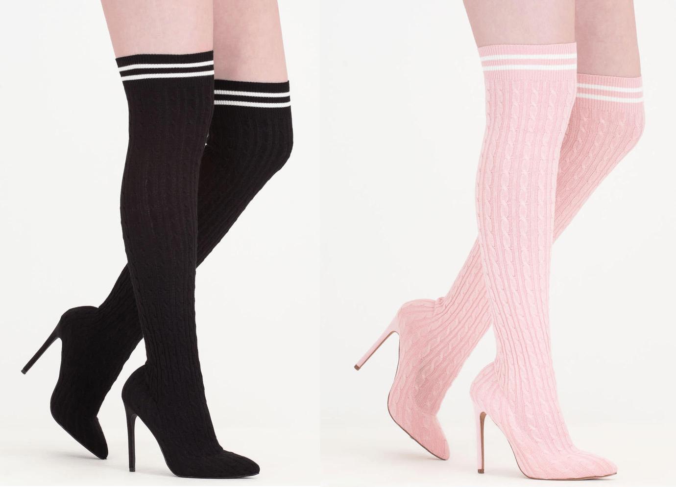Trend Alert: Thigh High Boots