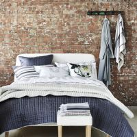 Designers Guild Chenevard Chalk and Graphite Quilts and Shams