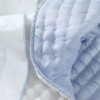 Designers Guild Chenevard Sky and Chalk Quilts and Shams