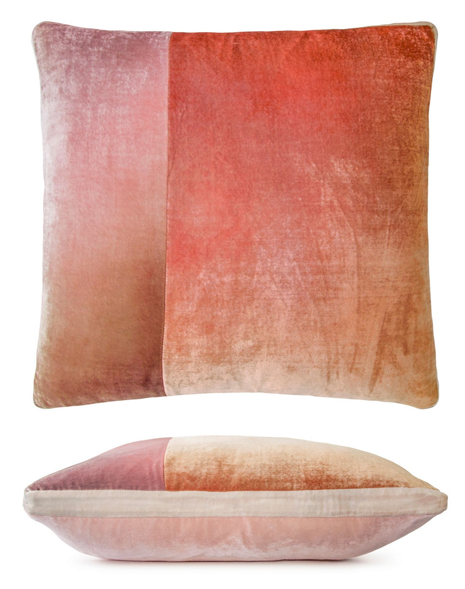 kevin o brien studio color block decorative pillow