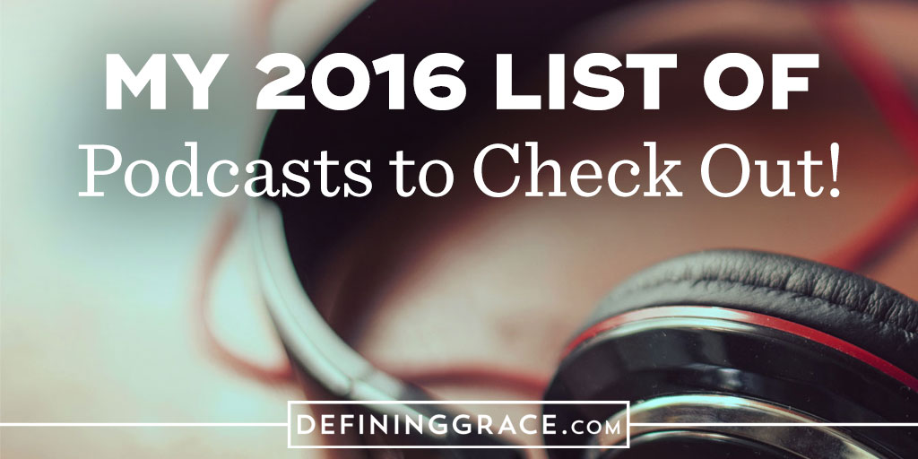 Recommended Podcasts for Christmas Break 2016