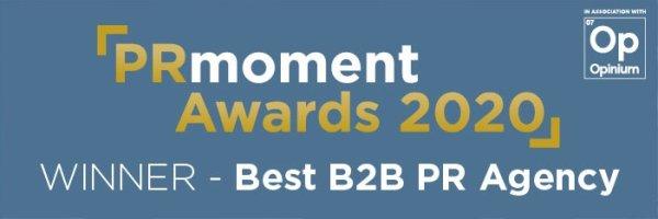 PR Moment award 2020 logo