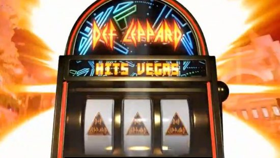 Def Leppard slot machine Las Vegas residency
