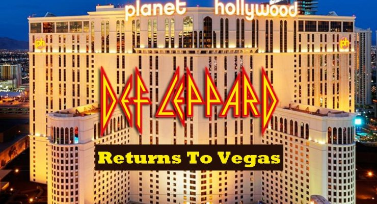 Def Leppard Planet Hollywood Las Vegas residency