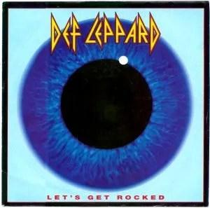 Def Leppard's Let's Get Rocked CD Single