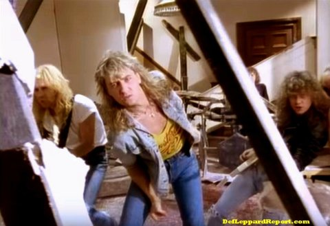 def leppard pour some sugar on me video uk version