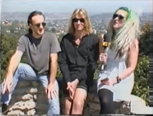 Def Leppard Joe Elliott and Vivian Campbell MTV Slang interview