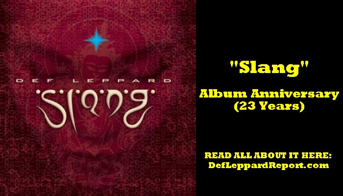 Def Leppard Slang album anniversary