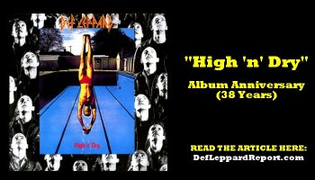 Def Leppard Song Spotlight: Photograph (A Whole New Perspective)