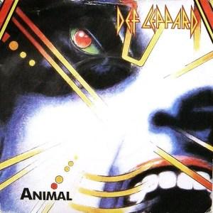 Def Leppard Hysteria single Animal vinyl 45