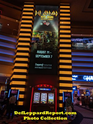 Planet Hollywood Casino_Def Leppard Sign