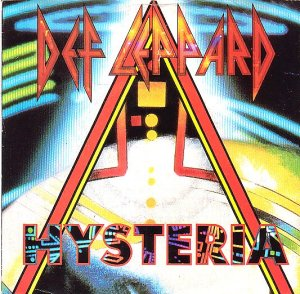 Def Leppard Hysteria single vinyl 45