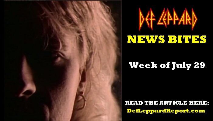 Def Leppard News Bites July 2019