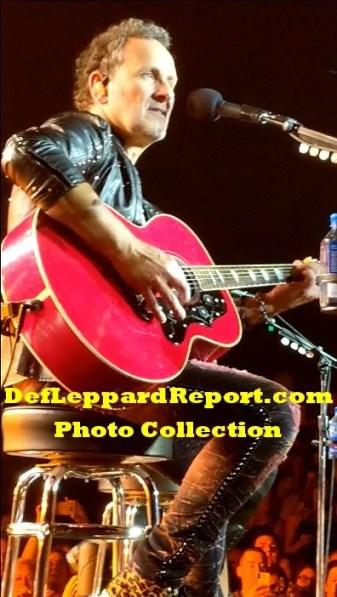 Def Leppard Zappos live Vivian Campbell