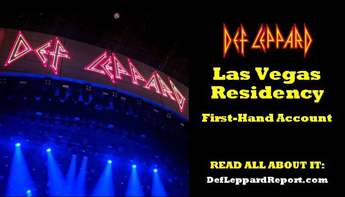 Def Leppard Zappos Residency Review