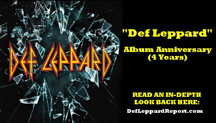 Def Leppard album anniversary